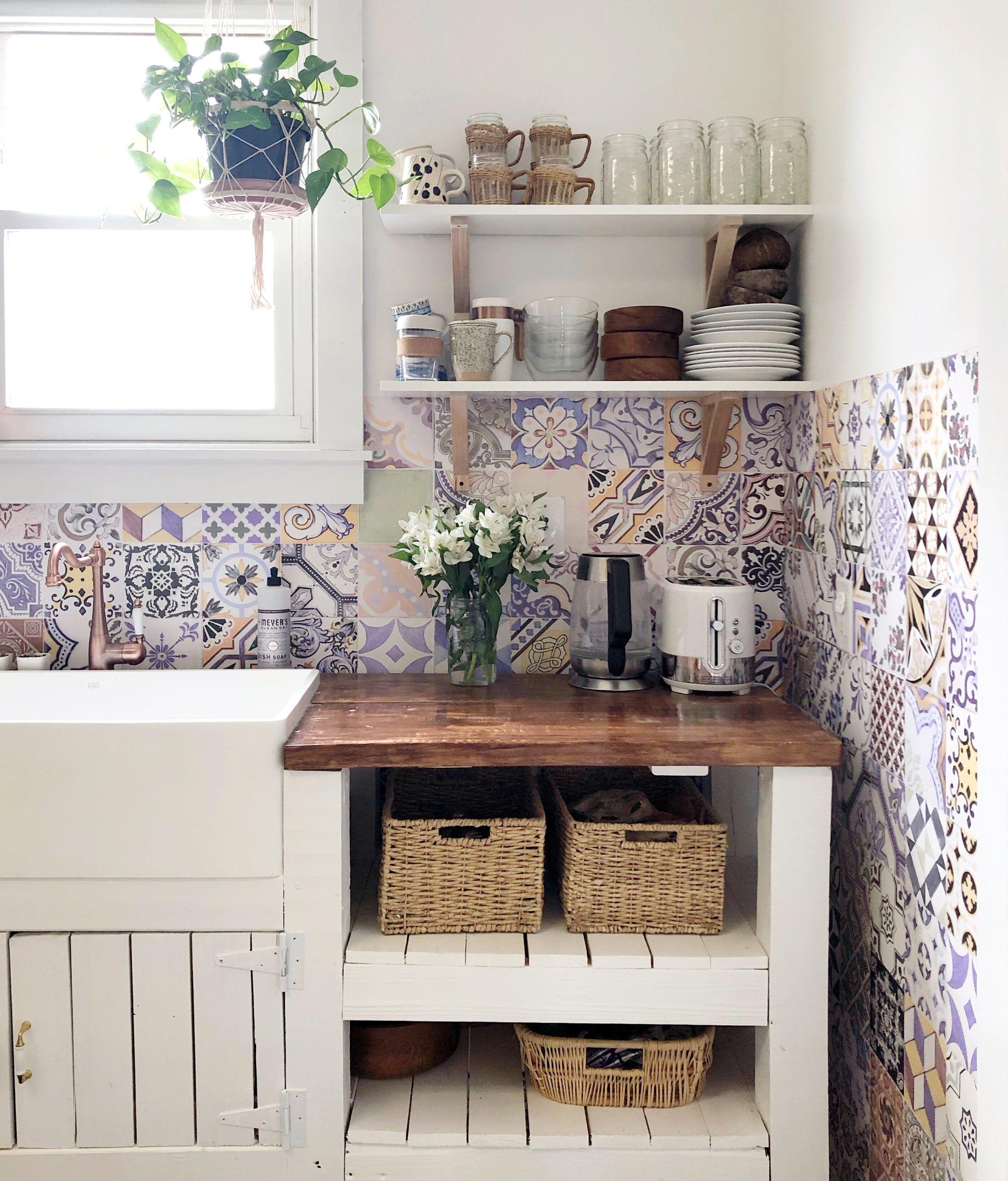 Federation Tiles Wallpaper • Kitchen Wallpaper