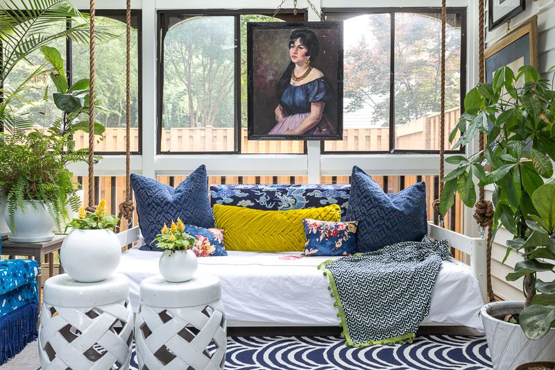 Maximalist Sunroom • Jewel Marlowe