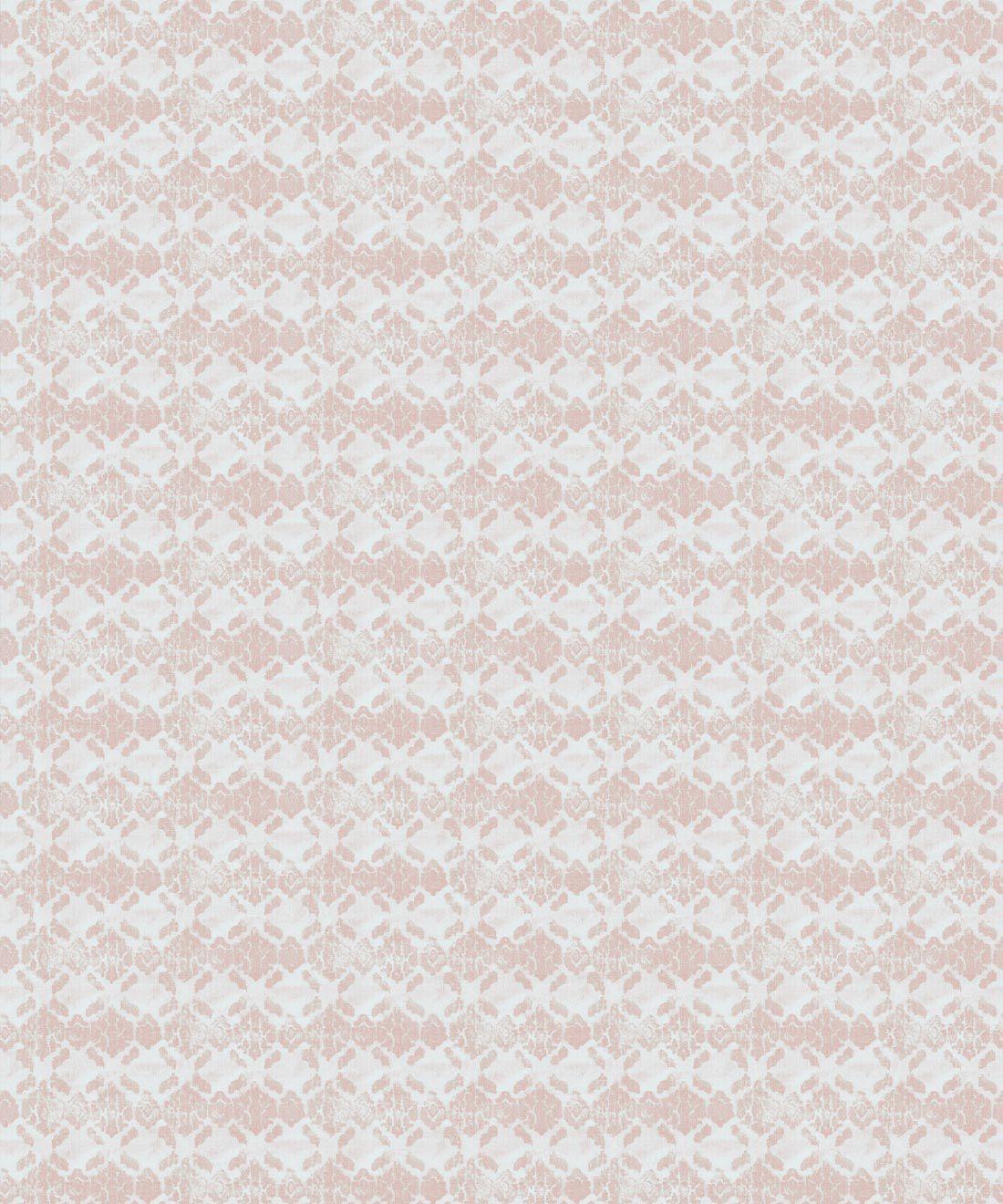 Peach Ikat Wallpaper • Shibori