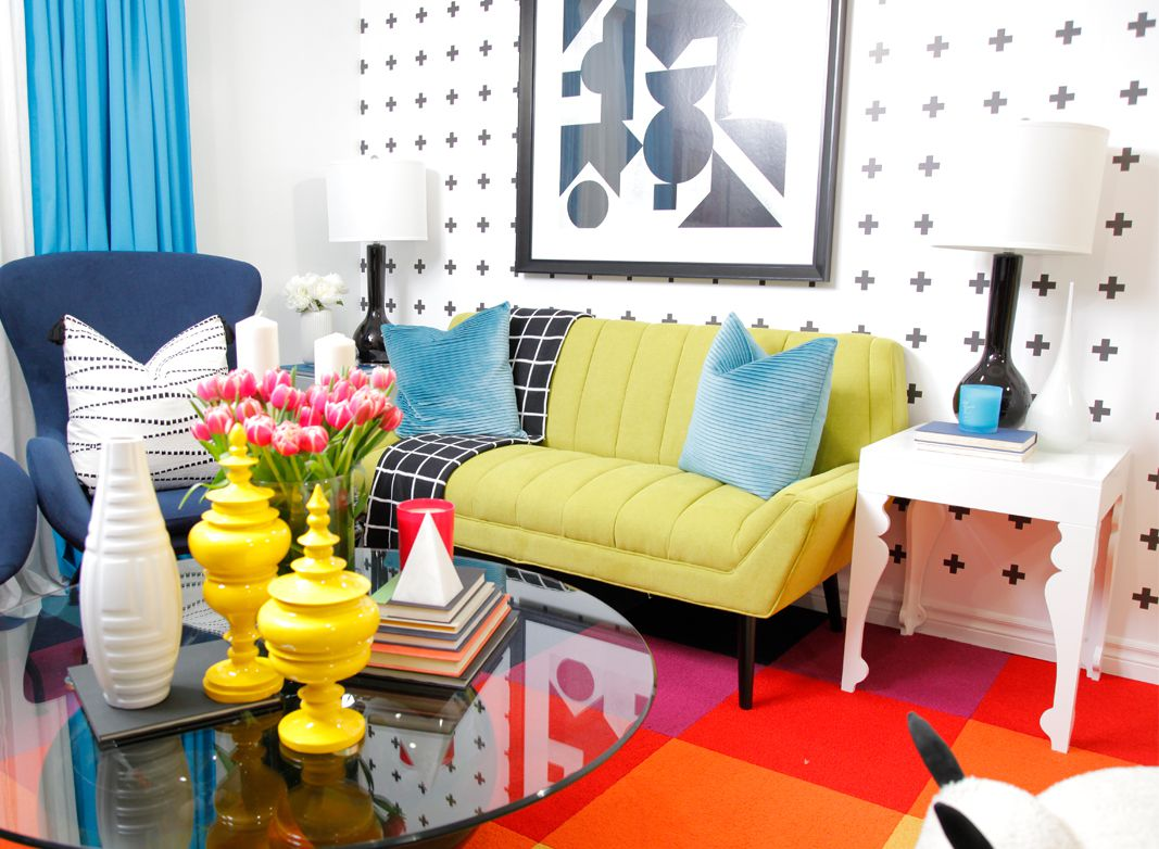 Living Room wallpaper •Plus Sign Wallpaper