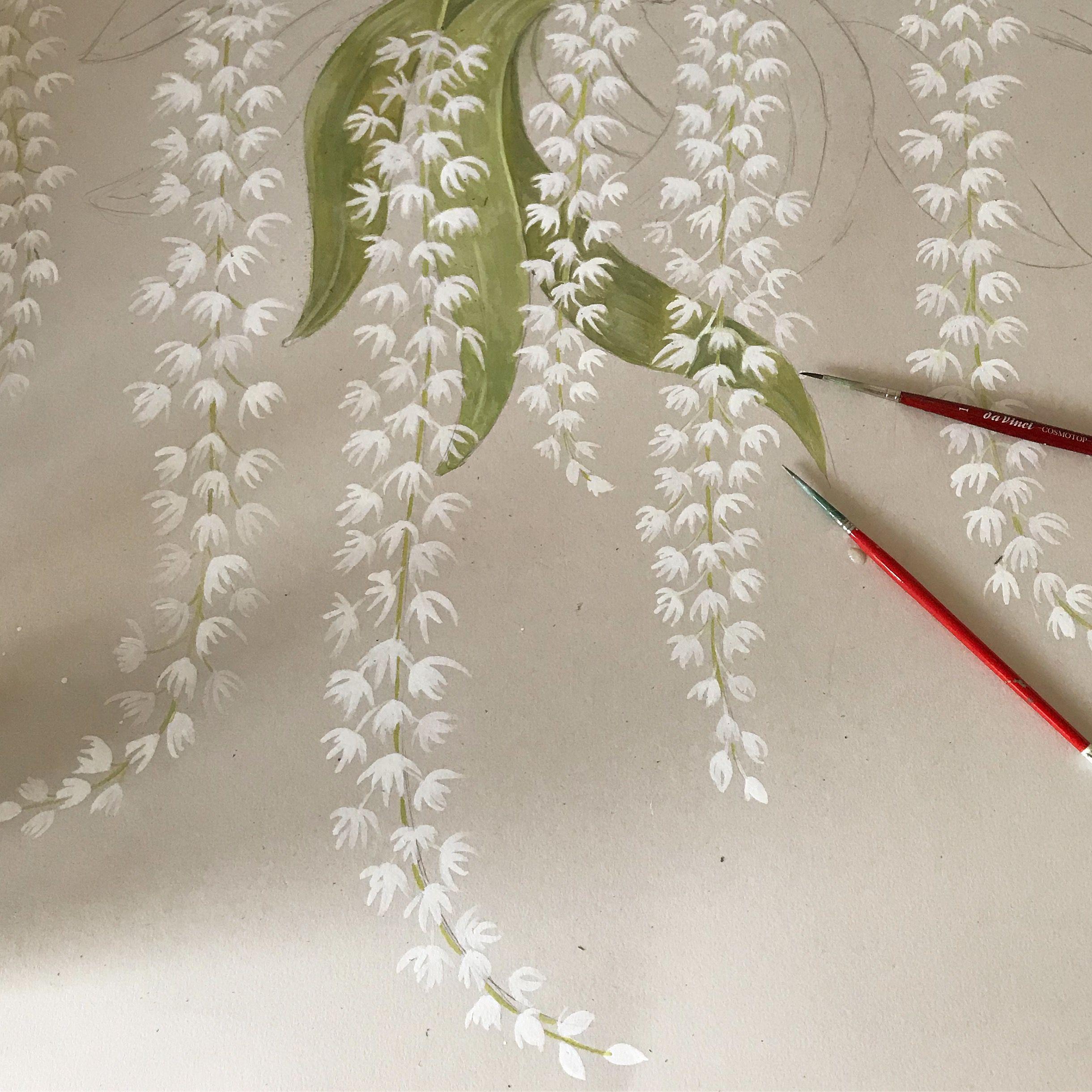 Bethany Linz • Wallpaper Artist • Orchid Wallpaper