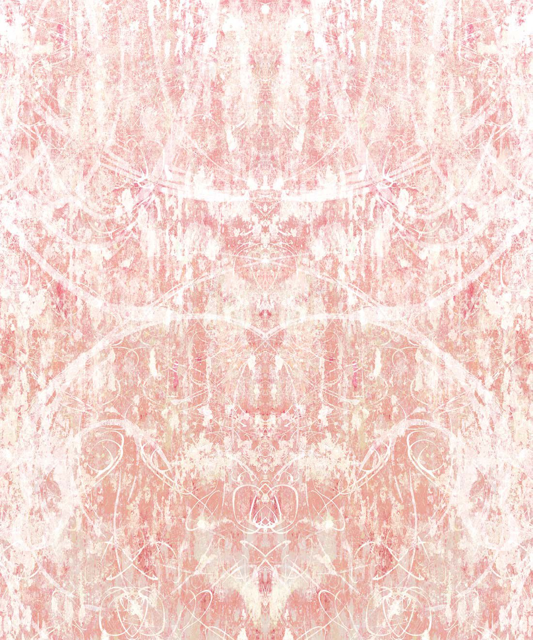 Hori Wallpaper by Simcox • Color Peach • Abstract Wallpaper • swatch