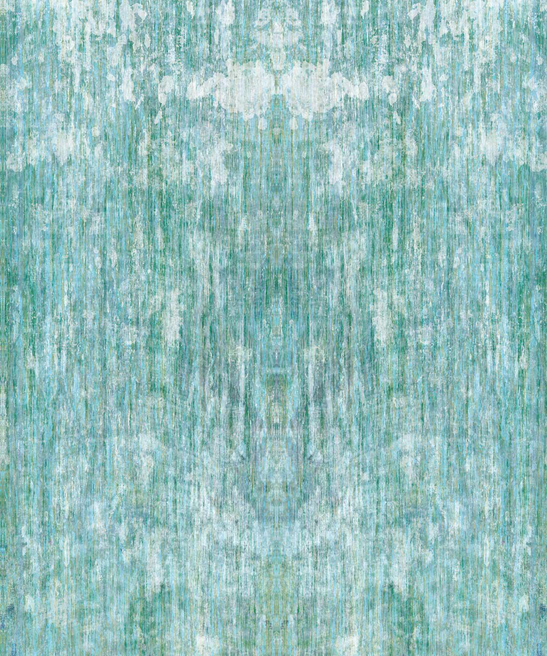 Patina Wallpaper by Simcox • Color sky • Abstract Wallpaper • swatch