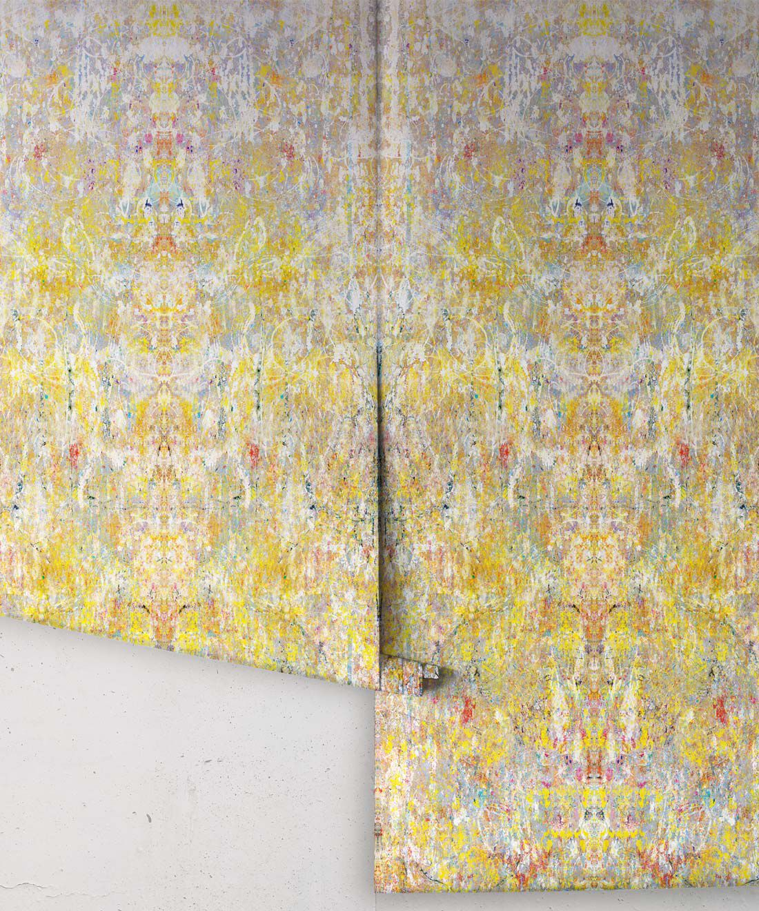 Ramose Wallpaper by Simcox • Color Light • Abstract Wallpaper • rolls