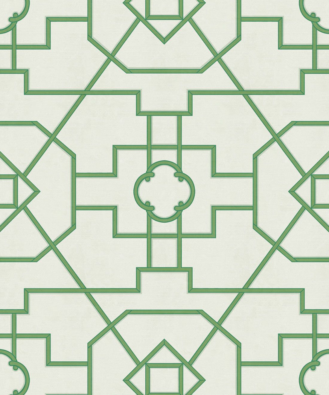 Trellis Wallpaper • Geometric Wallpaper • Ivory Wallpaper • Swatch