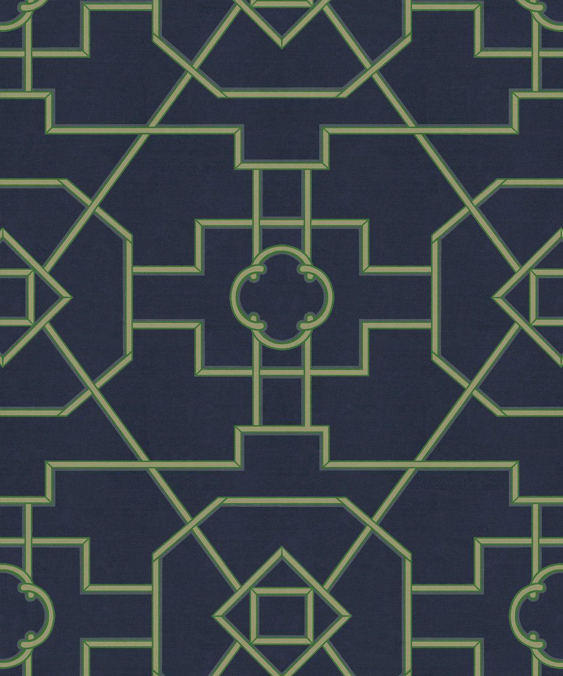 Trellis Wallpaper •Milton & King