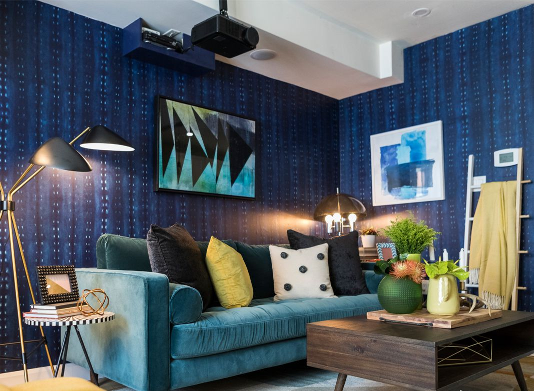 Wallpaper Trends 2021 • Shibori Cityscape Night Wallpaper • Nikki Chu • Aspire TV • Unboxed