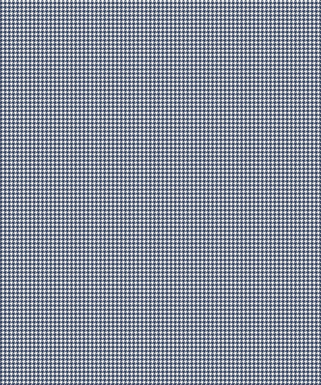Houndstooth Wallpaper • Dogstooth Wallpaper • Navy •Swatch