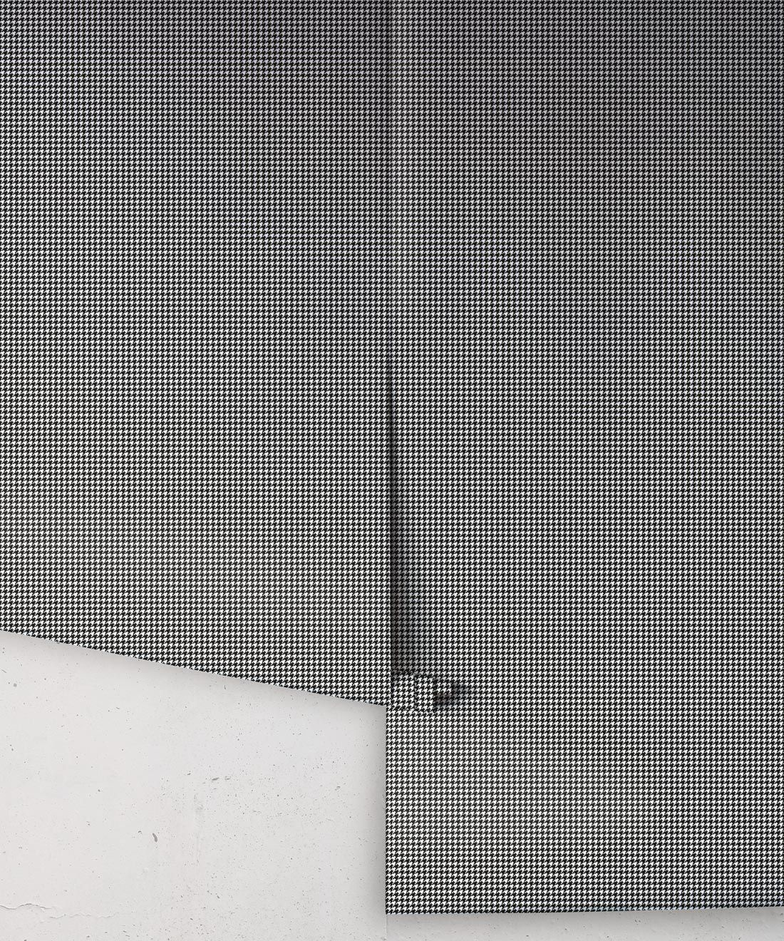 Houndstooth Wallpaper • Dogstooth Wallpaper • Black & White •Rolls