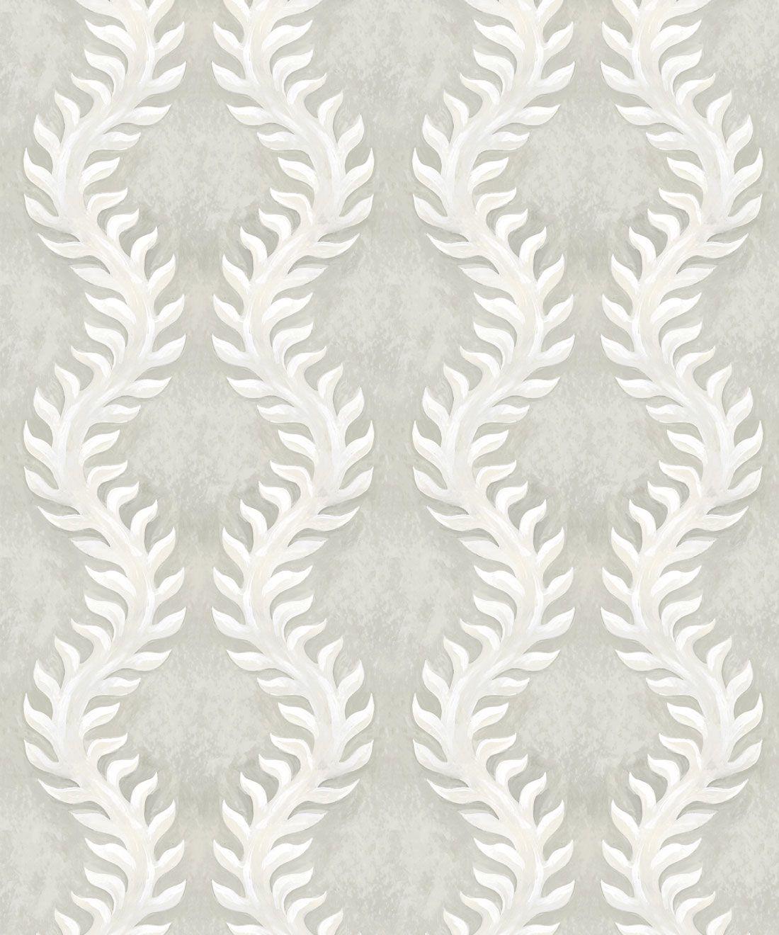 Fern Wallpaper • Beige •Swatch