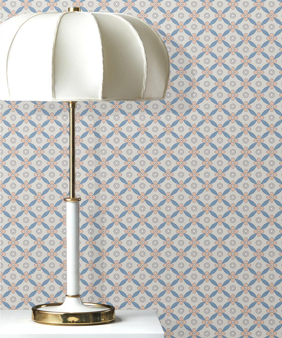 Petite Wallpaper • Blush • Insitu