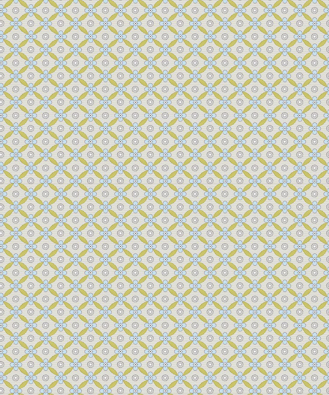Petite Wallpaper • Chartreuse • Swatch