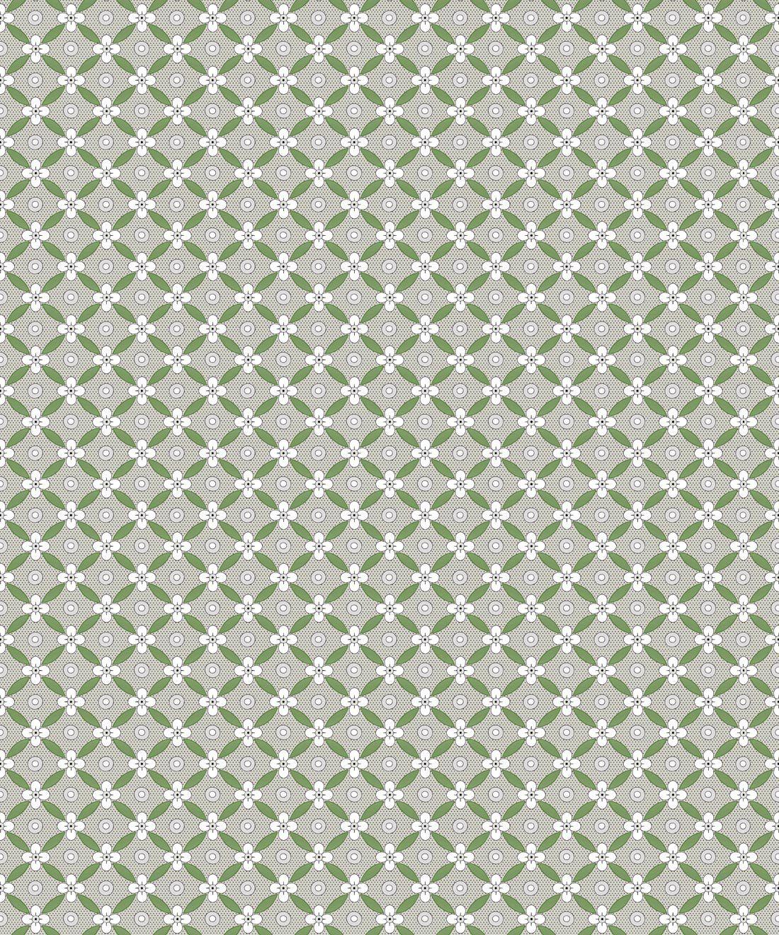 Petite Wallpaper • Fern Green • Swatch