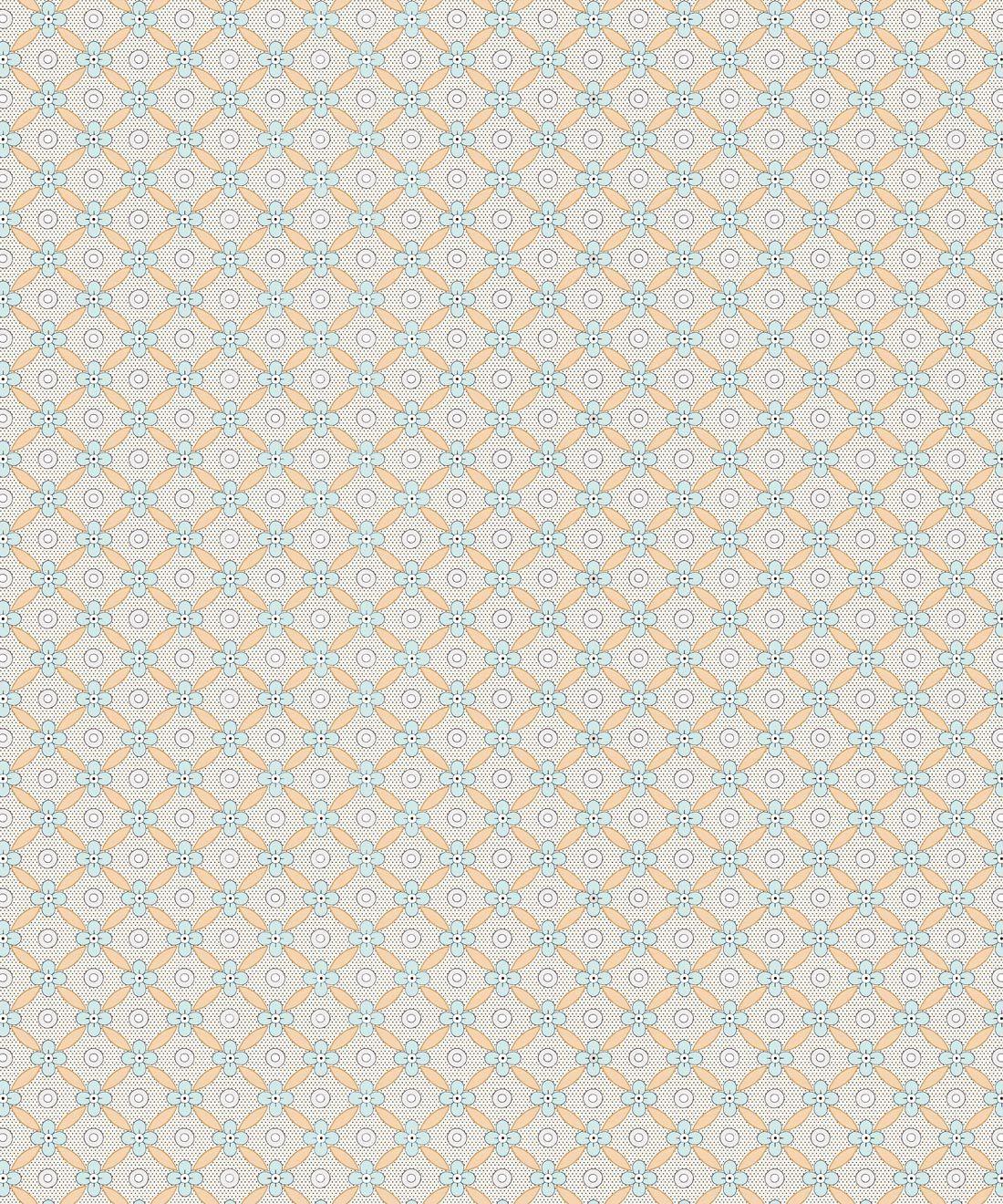 Petite Wallpaper • Sea Spray • Swatch