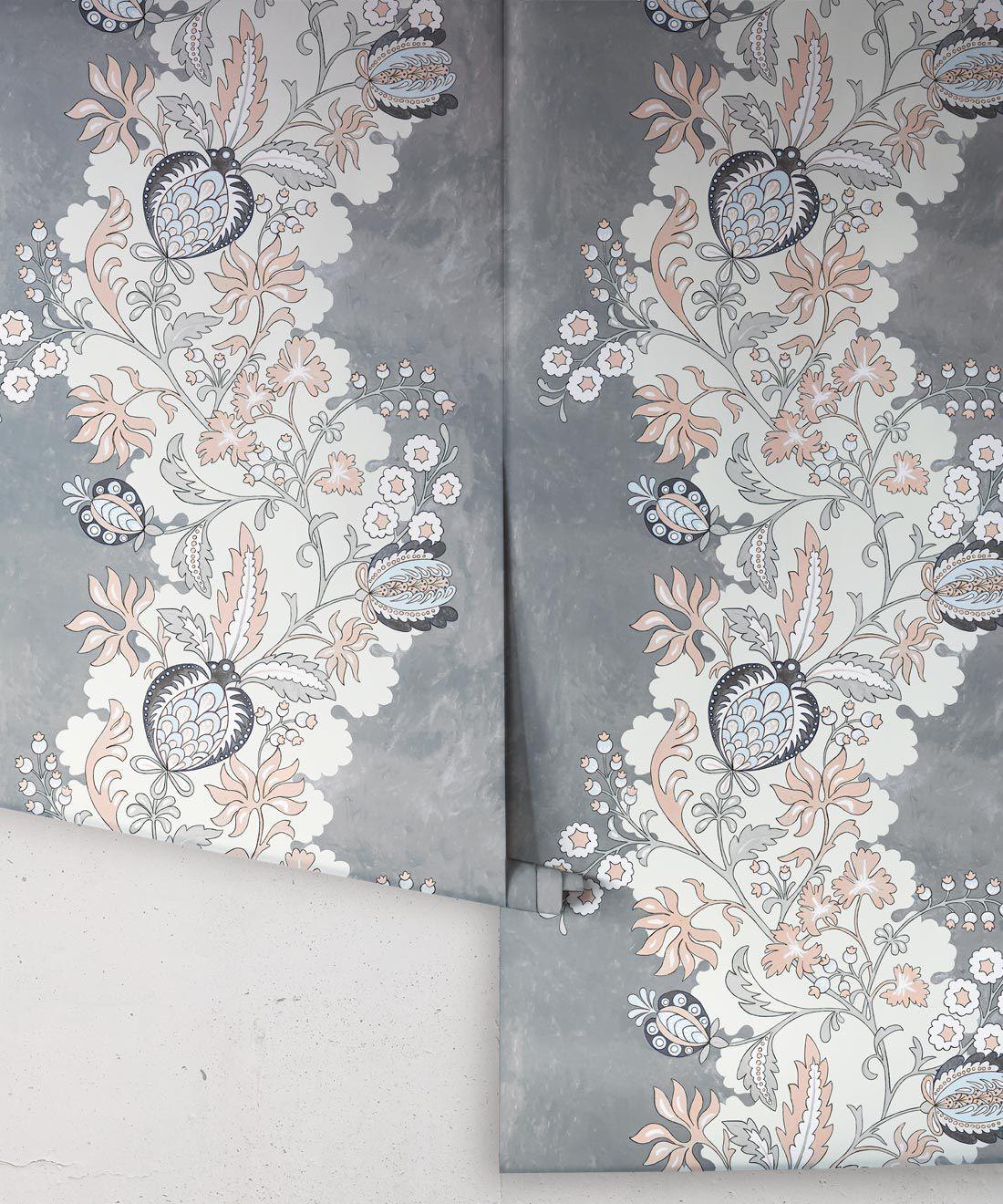 Pomegranate Wallpaper • Dusty Pink • Rolls