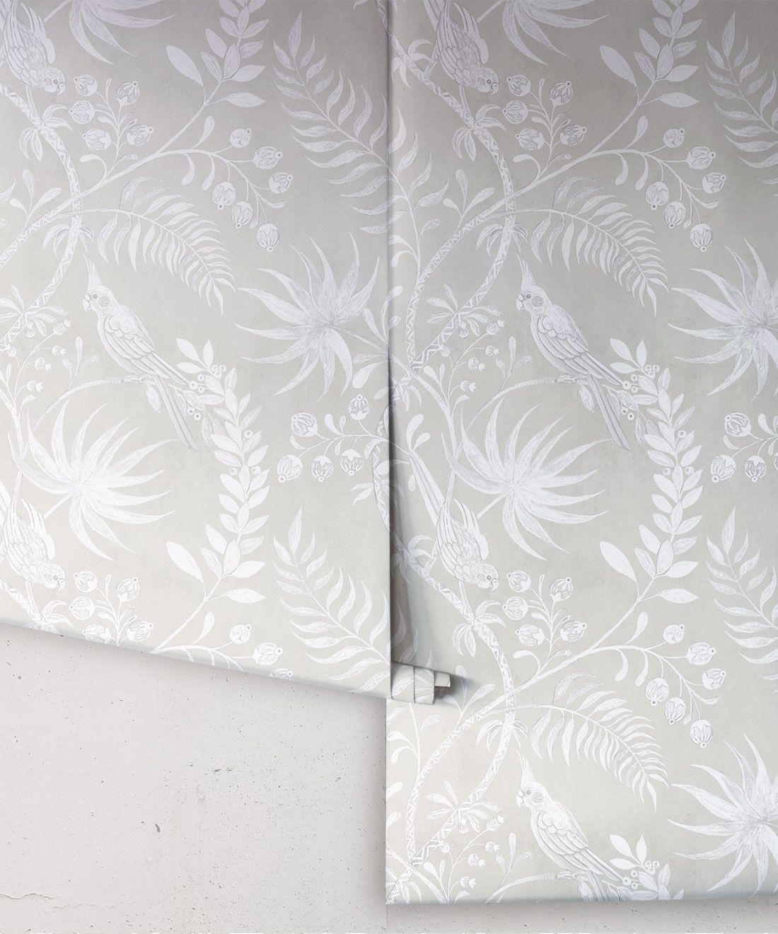 Tropicana Wallpaper • Beige • Rolls