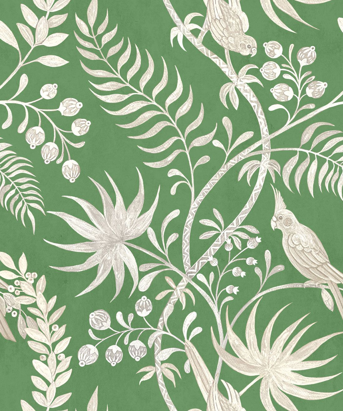 Tropicana Wallpaper • Fern Green • Swatch