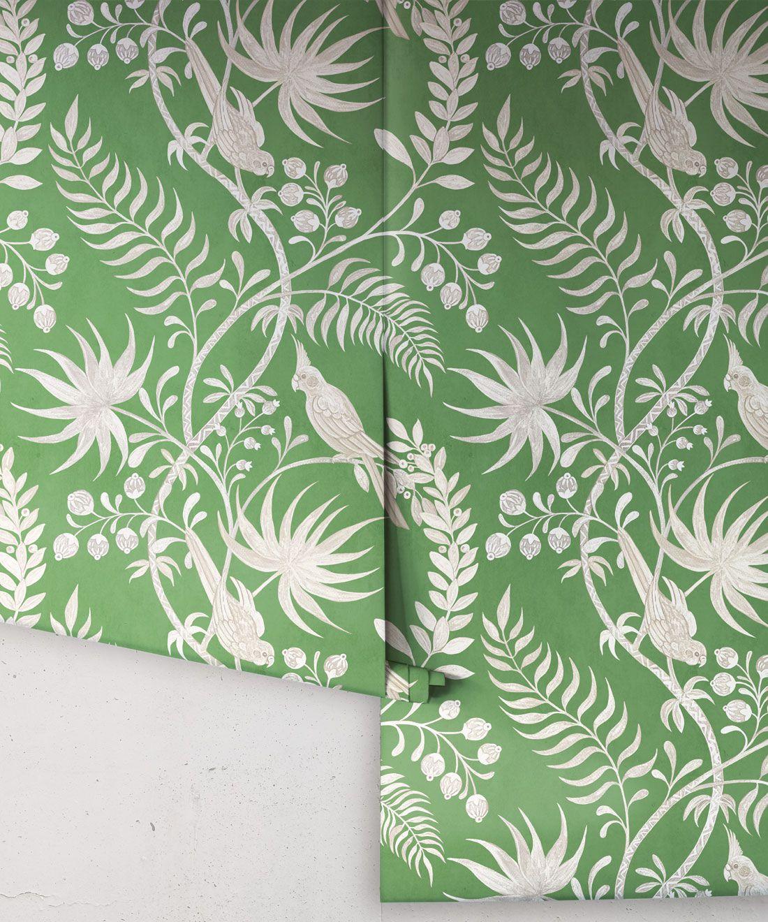 Tropicana Wallpaper • Fern Green • Rolls