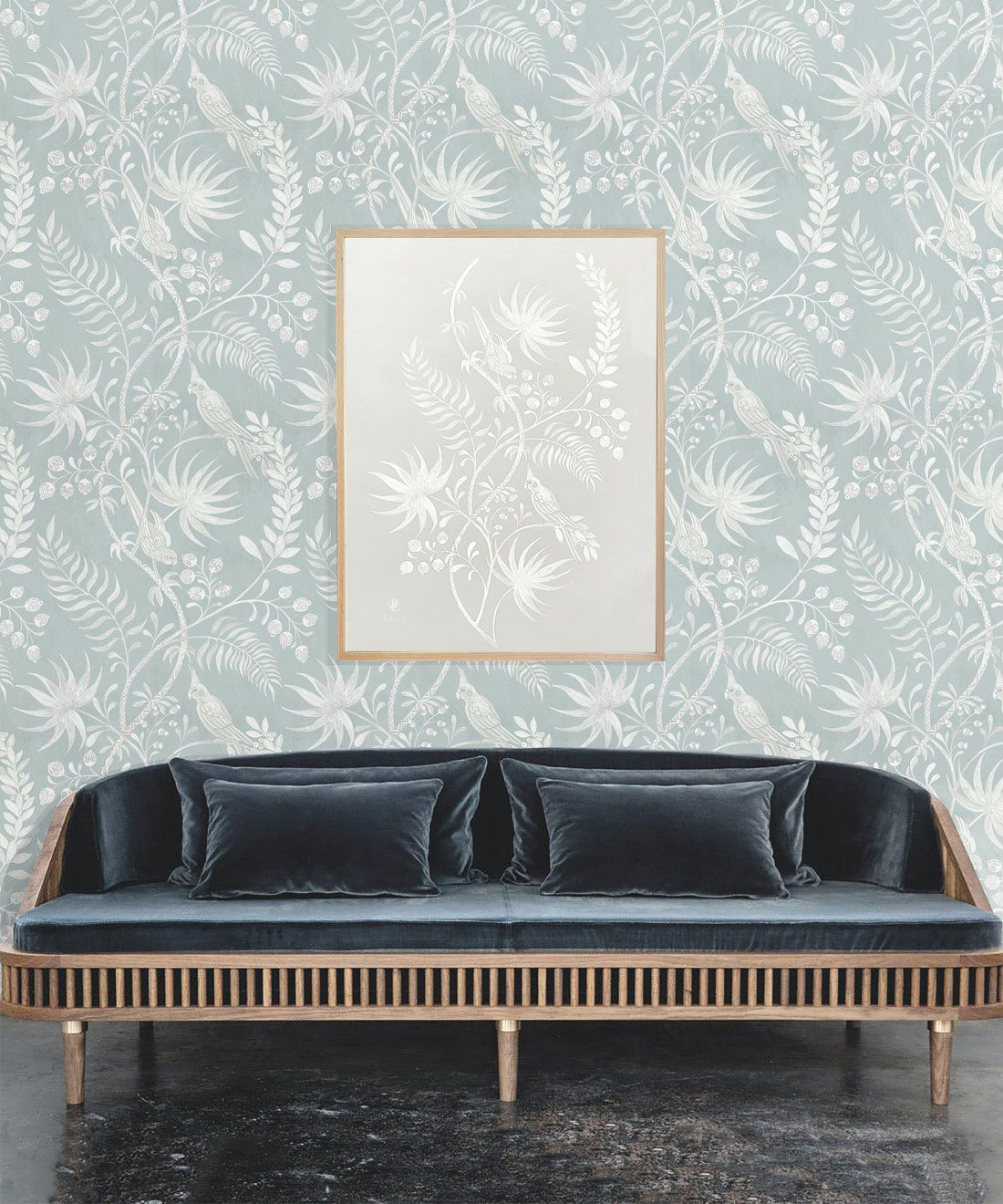 Tropicana Wallpaper • Sea Spray • Insitu