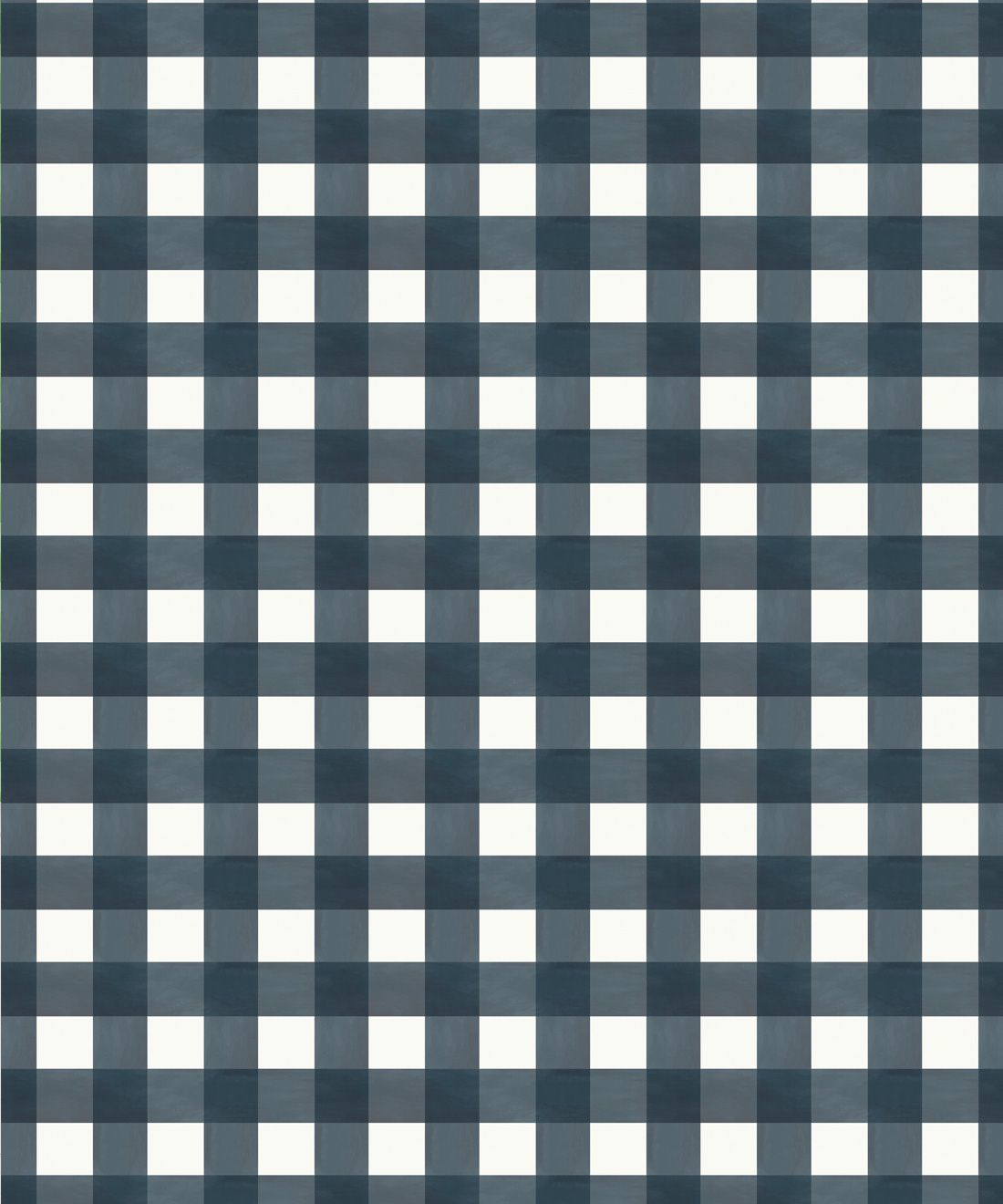 Check Wallpaper • Navy •Swatch