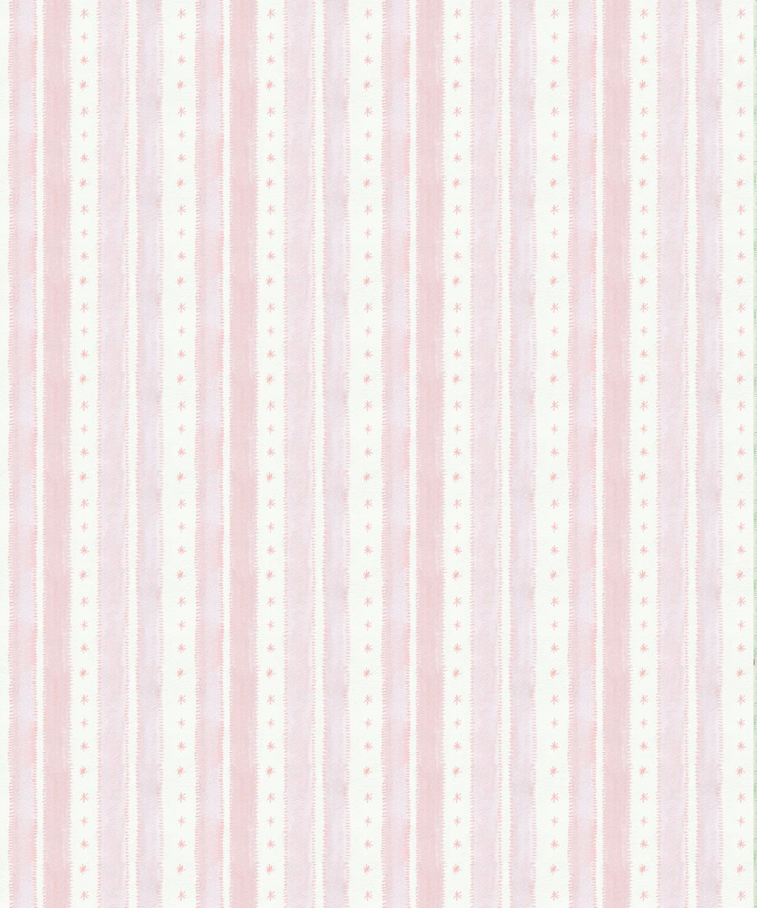Star Stripe Wallpaper • Pink • Swatch