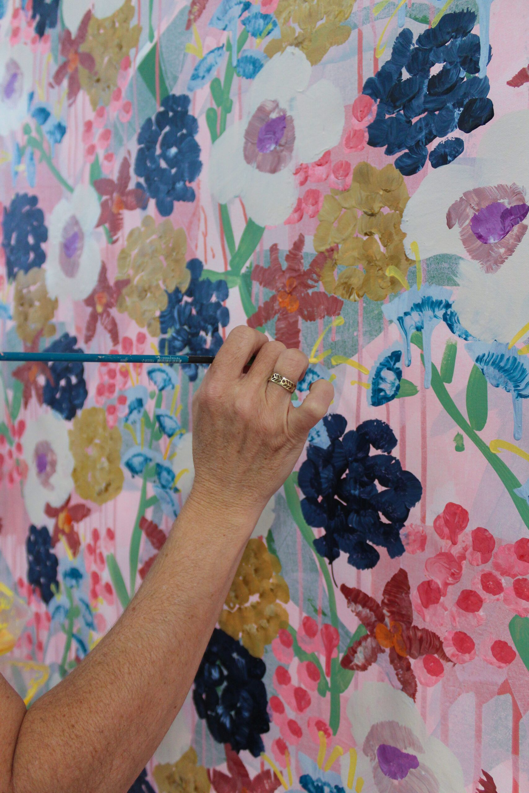 Tiff Manuell painting Garden State
