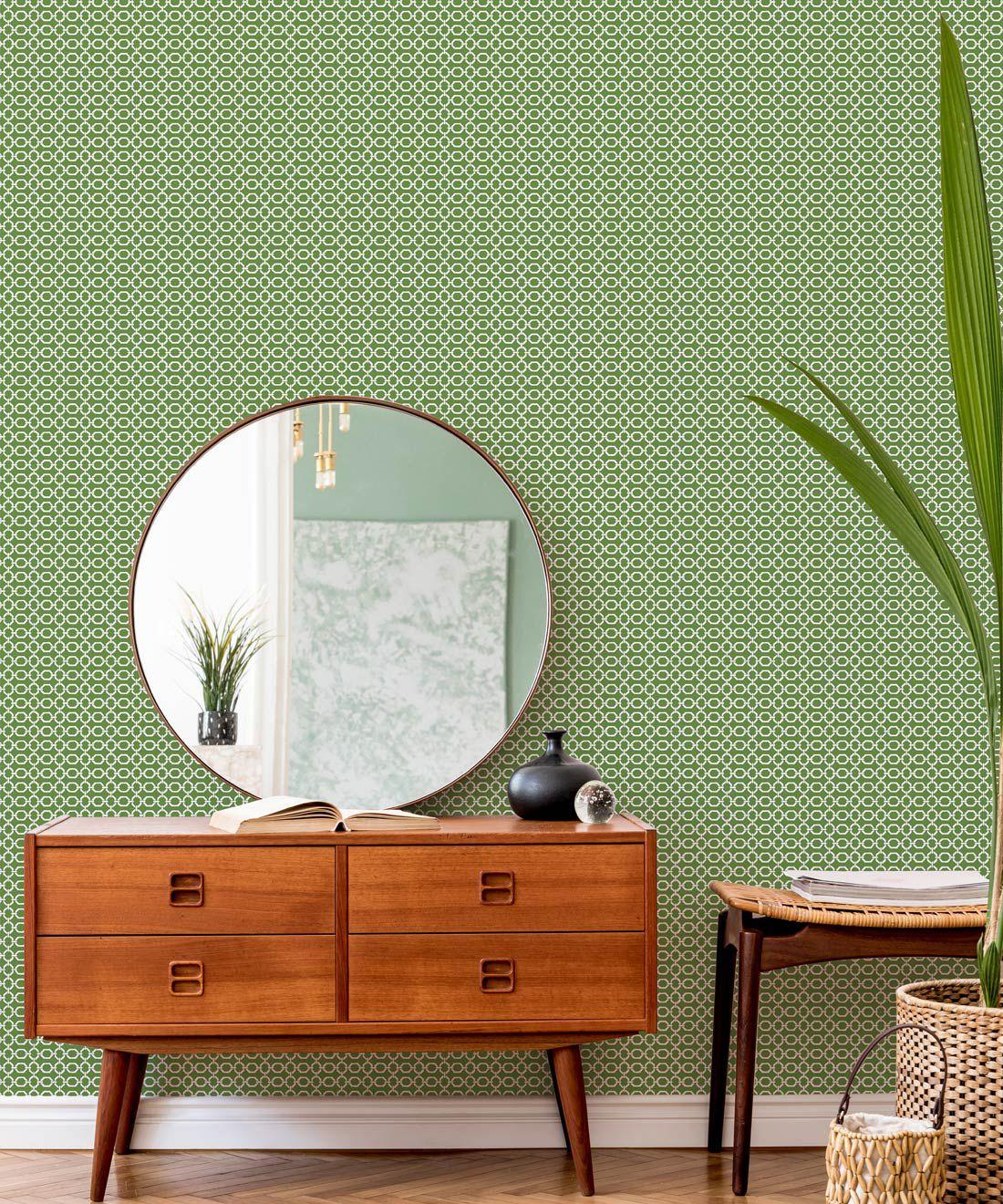 Ravello Wallpaper • Dianne Bergeron • Parsley •Insitu