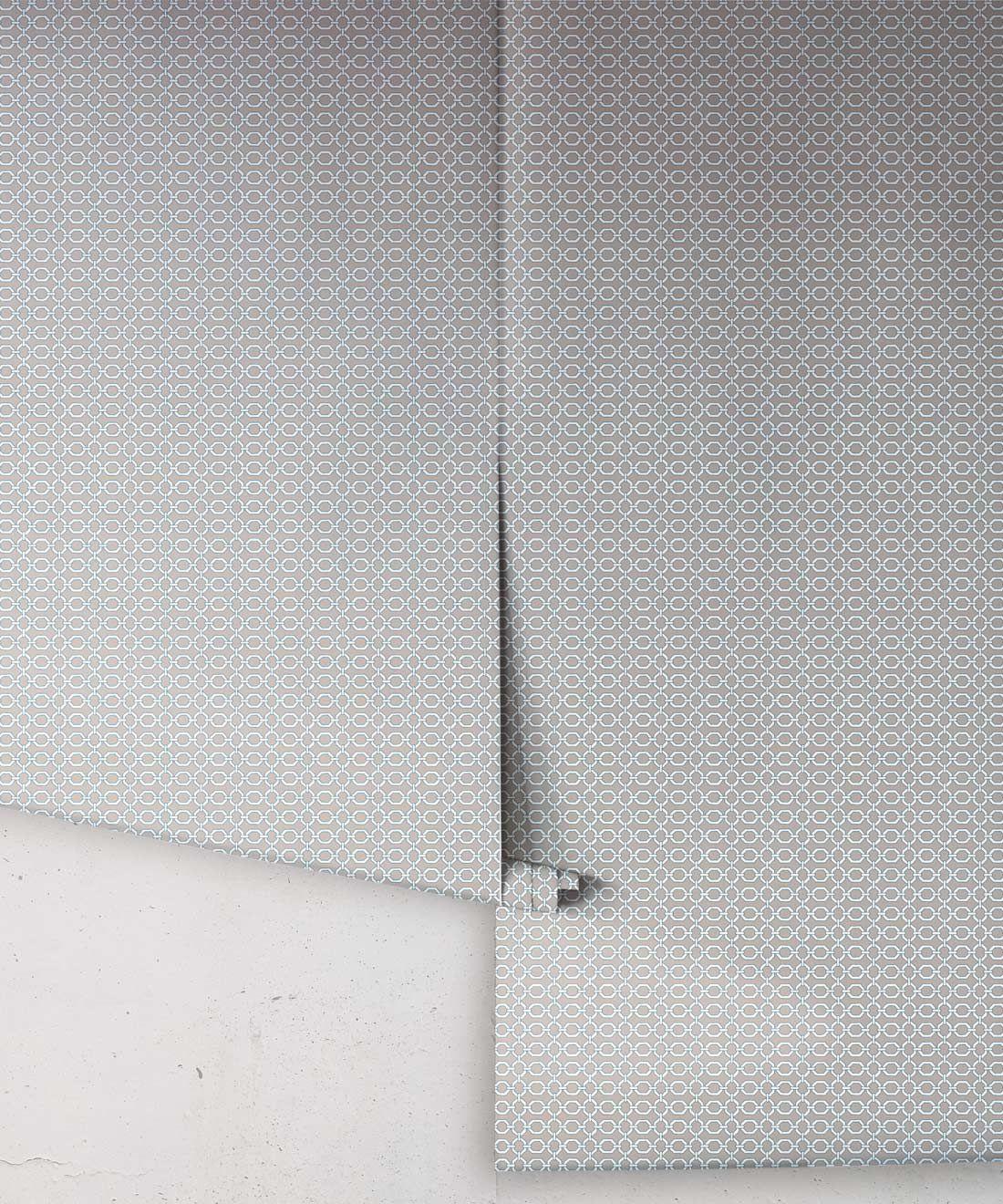 Ravello Wallpaper • Dianne Bergeron • Putty •Rolls