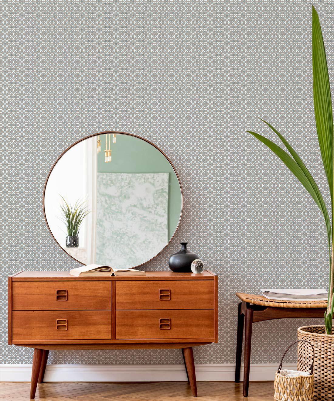 Ravello Wallpaper • Dianne Bergeron • Putty •Insitu