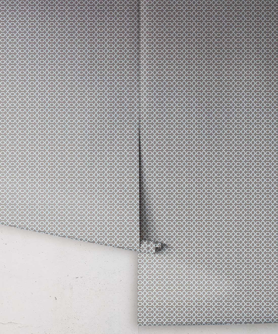 Ravello Wallpaper • Dianne Bergeron • Stone •Rolls
