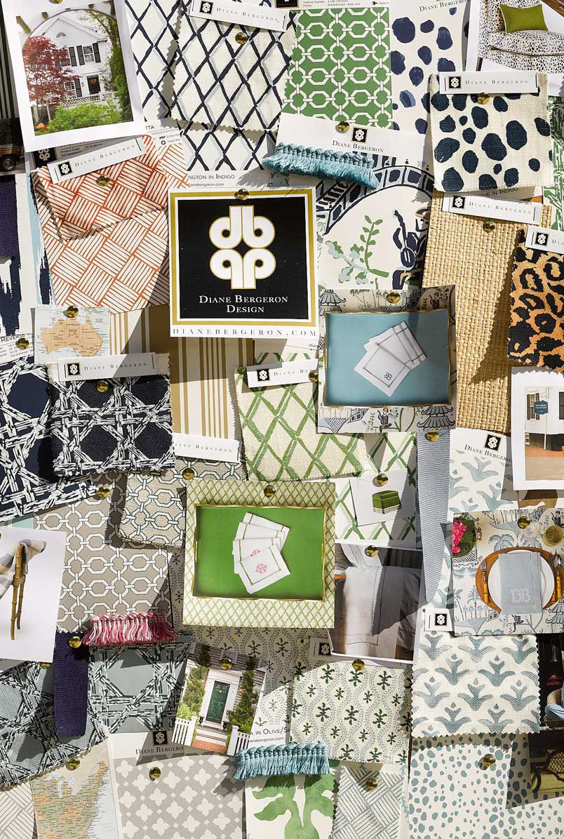 Diane Bergeron Wallpaper Collection •Milton & King