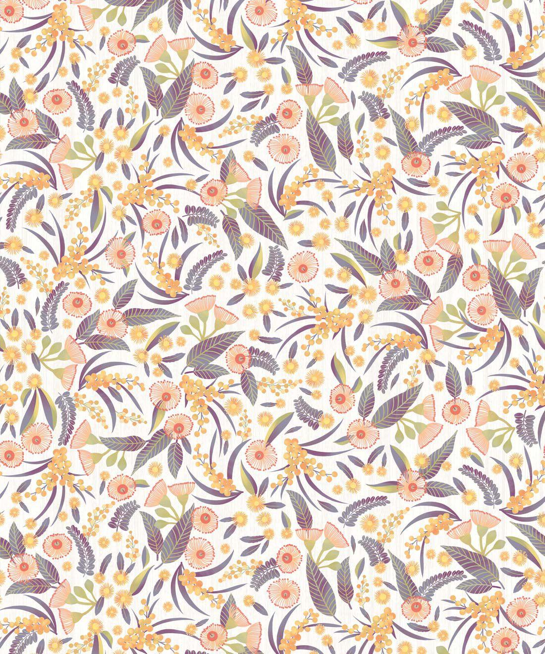 Gum Blossoms Wallpaper