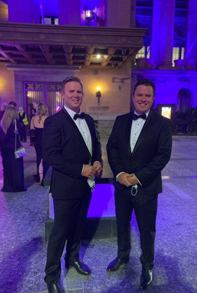 Queensland Export Awards 2021 • Milton & King • Wallpaper • Bryce Capp • Richard Capp • Brisbane